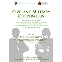 miniatura do artykułu Open Lecture by Colonel Ronald Ti, adviser to the Australian Department of Defence