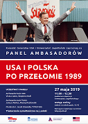 miniatura Ambassadors' Panel: Polish and American Perspectives on Post-1989 Bilateral Relations