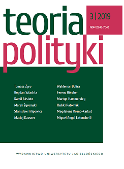 miniatura The third issue of the international magazine THEORY OF POLITICS