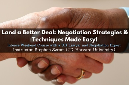 miniatura Kurs online z negocjacji – Negotiation Strategies & Techniques Made Easy!